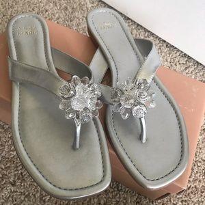 Alex Marie silver sandals